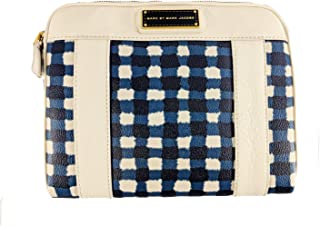 Marc Jacobs Checked Tablet Case in White Birch Multi