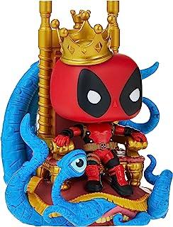 Pop! Deluxe Marvel Heroes King Deadpool on Throne Vinyl Figure
