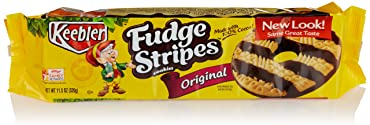 KeeblerFudge Stripes Cookies, Original, 11.5 oz Tray