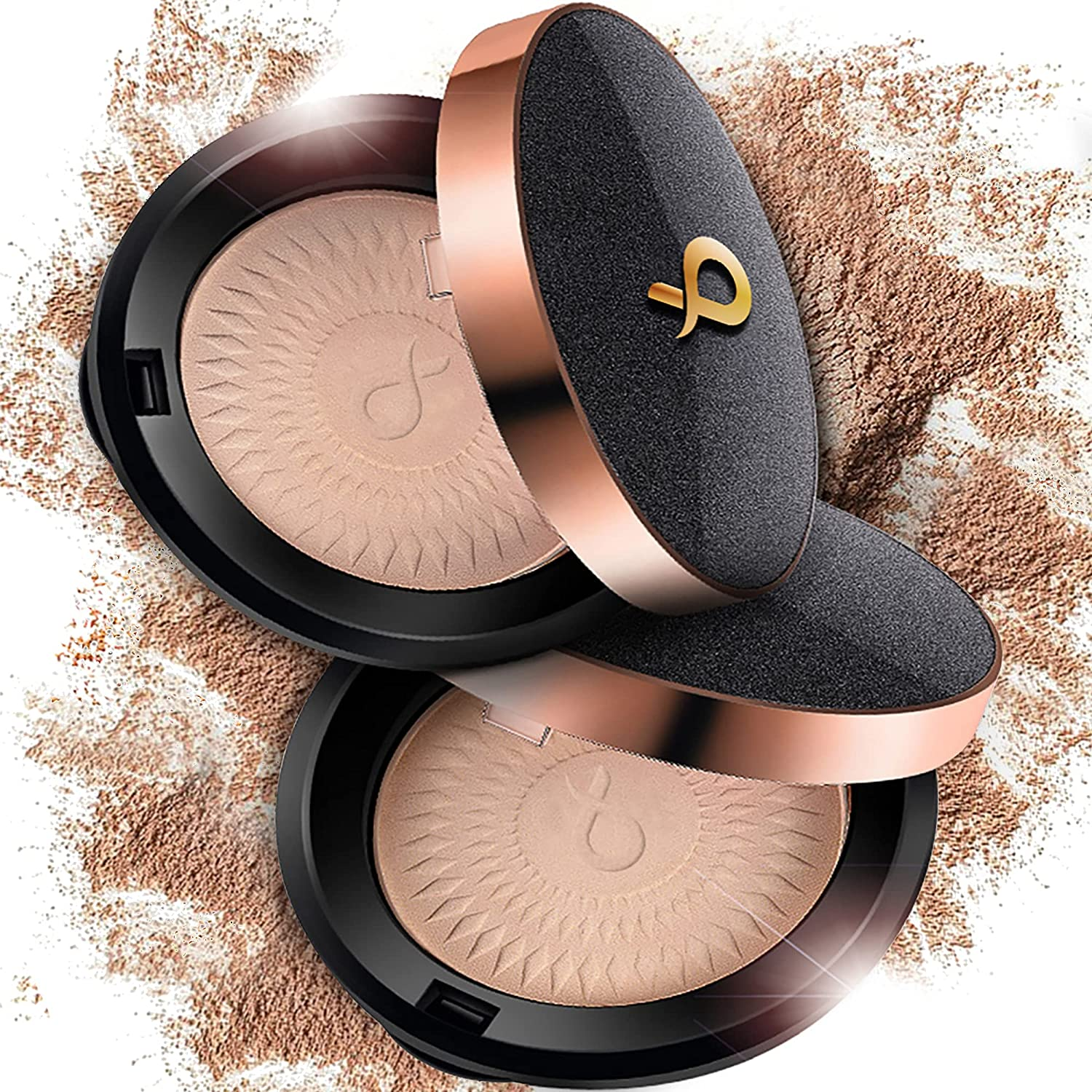 Raleigh Mall Belgrande Face Powder. Velvety New Orleans Mall Soft Translucent Fits all Skin. -