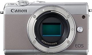 Canon EOS M100 - Cámara Evil compacta de 24.2 MP (LCD FHD Bluetooth WiFi/NFC Dual Pixel AF DIGIC 7) Gris - Solo Cuerpo