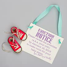 New Baby Announcement Eviction Notice Sign for Big Brother or Sister in Crib
