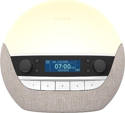 Lumie Bodyclock Luxe 700FM - Wake-Up Light with FM Radio