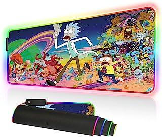 Bimormat RGB Gaming Mouse Pad Large Mouse Mat, 31.5 X 11.8 I