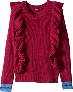 Ruffle Pullover Sweater (Big Kids)