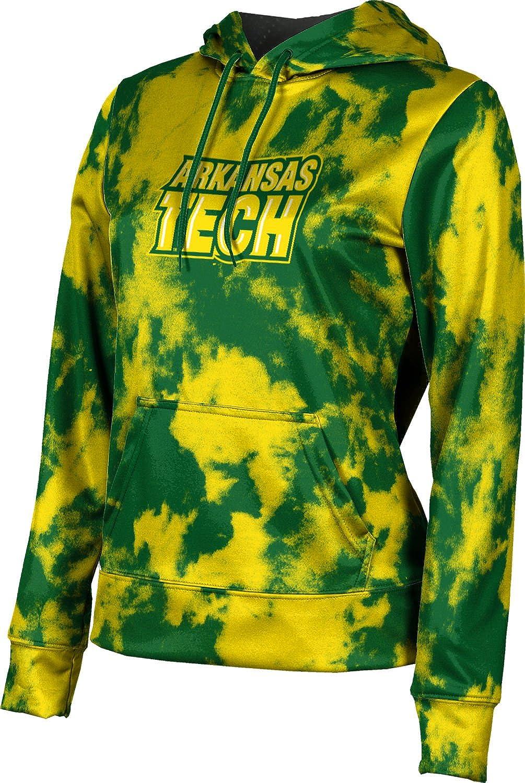ProSphere Arkansas Tech University Girls' Pullover Hoodie, School Spirit Sweatshirt (Grunge)
