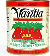 Vantia - Certified San Marzano D.O.P. Tomatoes 28oz. Cans (4 Pack)
