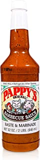 Pappy's Choice Seasonings Barbecue Sauce Marinade - Perfect for bbq smoked brisket, tri tip, steak, beef, chicken, fajita, hogs, rib, seafood, & more. Seasoning gift sets, spice mixes and rubs.