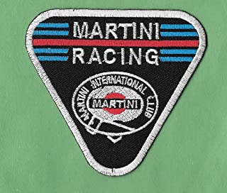 Iron On Embroidered Patch Top Quality New Martini Racing 'Club' Iron on, 3 X 3