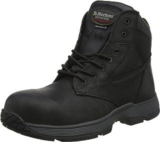 DR MARTENS Linnet S1P black metal free DM safety shoe with midsole size 3-13 UK
