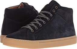 High Top Suede Sneaker