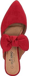 Susan 18 Mules for Women Comfortable Slip On Pointed Toe Sandal Jazz Flats Slides Women