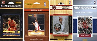 NBA Toronto Raptors 4 Different Licensed Team Set Trading Card