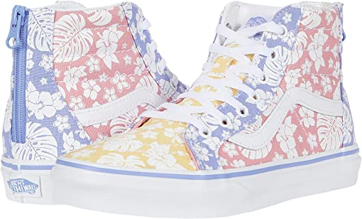 (Hawaiian Floral) Multi/True White