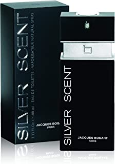 Jacques Bogart Silver Scent for Men, 3.33 oz EDT Spray