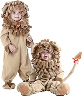 Fun Costumes Little Boy Deluxe Toddler Lion Jumpsuit Costume 2T Brown