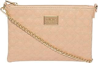 Nude Diamond Quilt Peta Crossbody Bag