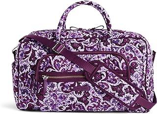 Vera Bradley Signature Cotton Compact Weekender Travel Bag, Lilac Paisley