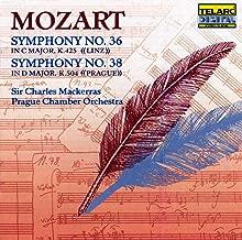 Mozart: Symphonies No. 36 & No. 38