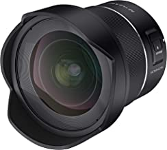 $699 » Rokinon AF 14mm F2.8 Wide Angle Auto Focus Full Frame Weather Sealed Lens for Canon RF Mount, Black (IO14AF-RF)