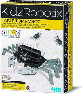 4M 5576 Table Top Robot - DIY Robotics Stem Toys, Engineering Edge Detector Gift for Kids & Teens, Boys & Girls (Packaging...