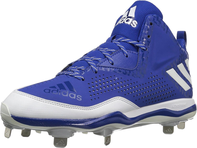 Adidas Men's PowerAlley 4 Mid Baseball Cleats