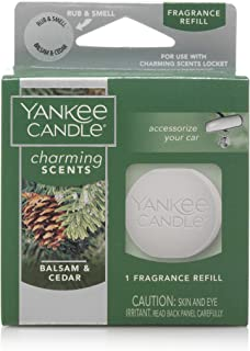 Yankee Candle Company Fragrance Charming Apple Cider | Scented Air Freshener Refill, for Car
