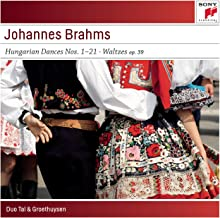 Brahms: Hungarian Dances No. 1-21; Waltzes, Op. 39 for Piano for Four Hands
