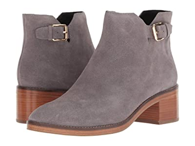 Cole Haan Harrington Grand Buckle Bootie (Stormcloud Suede) Women