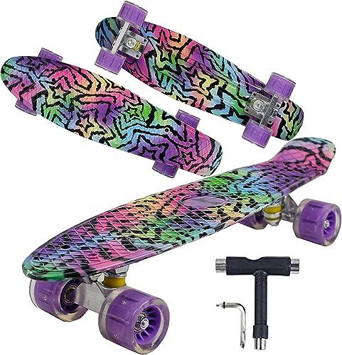 "wholesale Geelife wholesale 22"" Complete Mini Cruiser Skateboard for Beginners Youths Teens Girls online Boys online"