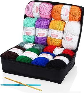 Ovillos de Lanas de Hilo lana prémium