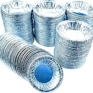 Heatoe 300 Pcs Aluminum Foil Pie Tart Quiche Pans,Round Disposable Tin Pans For Cooking and Baking