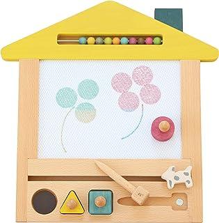 kiko+ gg oekaki Magic Drawing Board Wooden Magna Doodle (Dog)