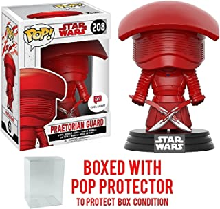 Funko Pop! Star Wars: The Last Jedi - Praetorian Guard with Dual Swords #208 Walgreens Exclusive Vinyl Figure (Bundled with Pop BOX PROTECTOR CASE)