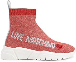 Love Moschino Sca.nod.running35 Calza Lurex, Sneaker Donna