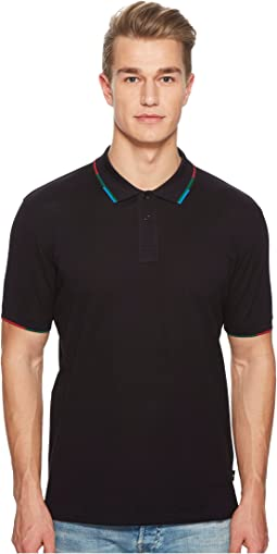 Paul Smith Polo with Striped Collar