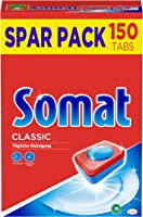 Somat Classic Spülmaschinen Tabs, 150 Tabs, Geschirrspül Tabs für die tägliche Reinigung von Besteck und Geschirr, mit...