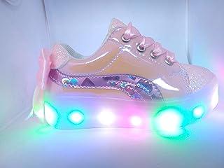 Tenis LED para niña