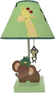 NoJo Jungle Babies Lamp and Shade