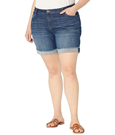 KUT from the Kloth Plus Size Catherine Boyfriend Shorts in Stimulating Women