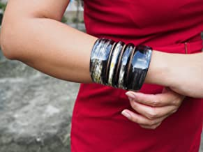 Natural Buffalo Horn Material Bracelet Jewelry