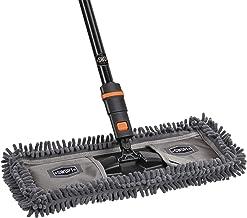 "18"" SWOPT Dust Mop w/Microfiber Combo – 60"" Steel Handle – Handle Interchangeable with Other SWOPT Cleaning Tools – Machin..."