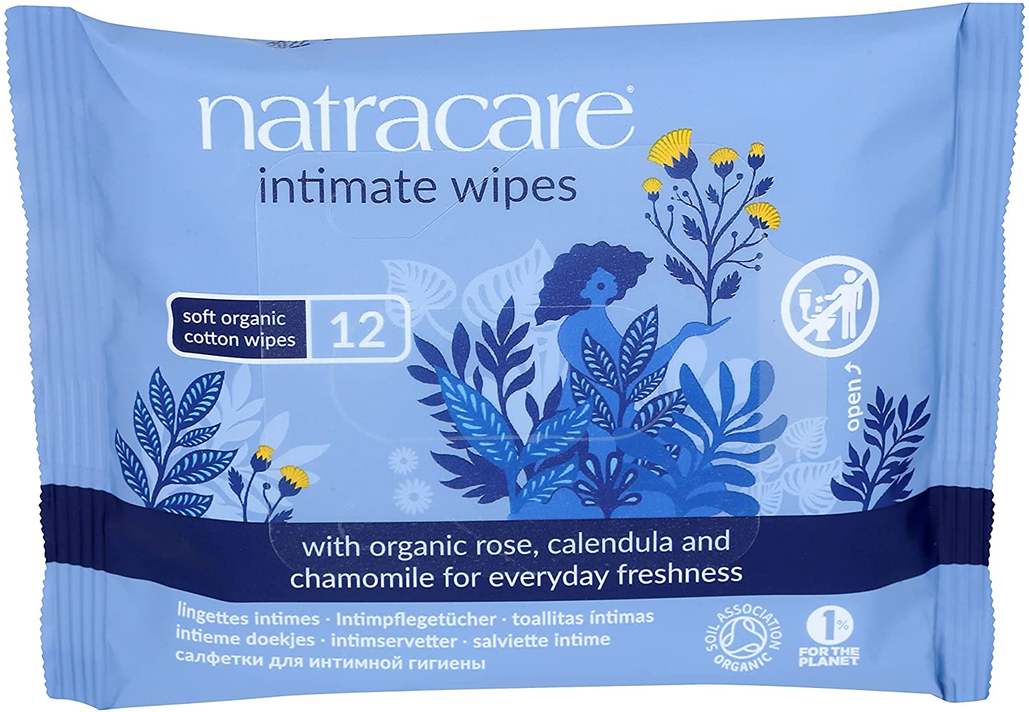 Natracare Organic Sales of SALE items from new 2021 model works Cotton Intimate with Wipes Infused Ess