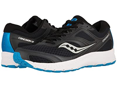 Saucony Versafoam Cohesion 12 (Black/Blue) Men