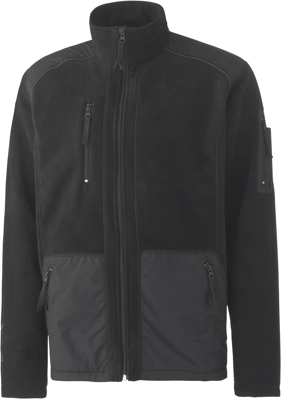 Helly Hansen Crafter Rossland 72013 Fleece Jacket with Full-Length Zip S black