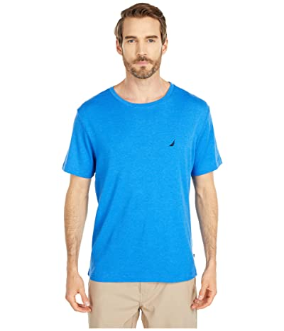 Nautica Sleep Crew Neck Tee (Spinner Blue) Men