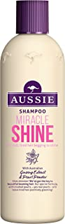 aussie Miracle Shine Shampoo 300 ml - Pack of 6