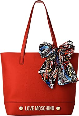Tote with Scarf
