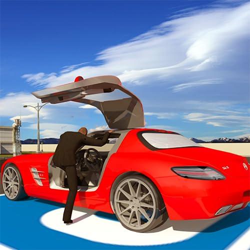Klug Auto Fahren Schule Testen 2018: Moderne Stadt Flughafen Auto Parken Simulator Spiele für Frei