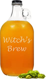 Cathy's Concepts Witch's Brew Glass Growler